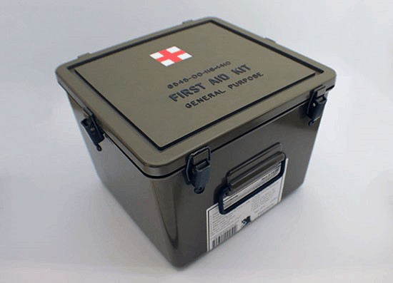 323 Piece Military General Purpose First Aid Box