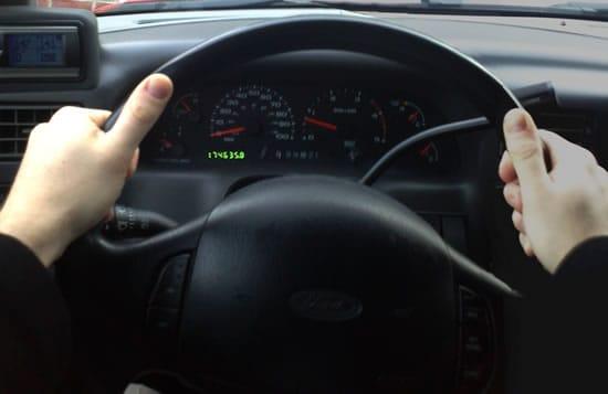 Defensive Driving - Steering Wheel Grip