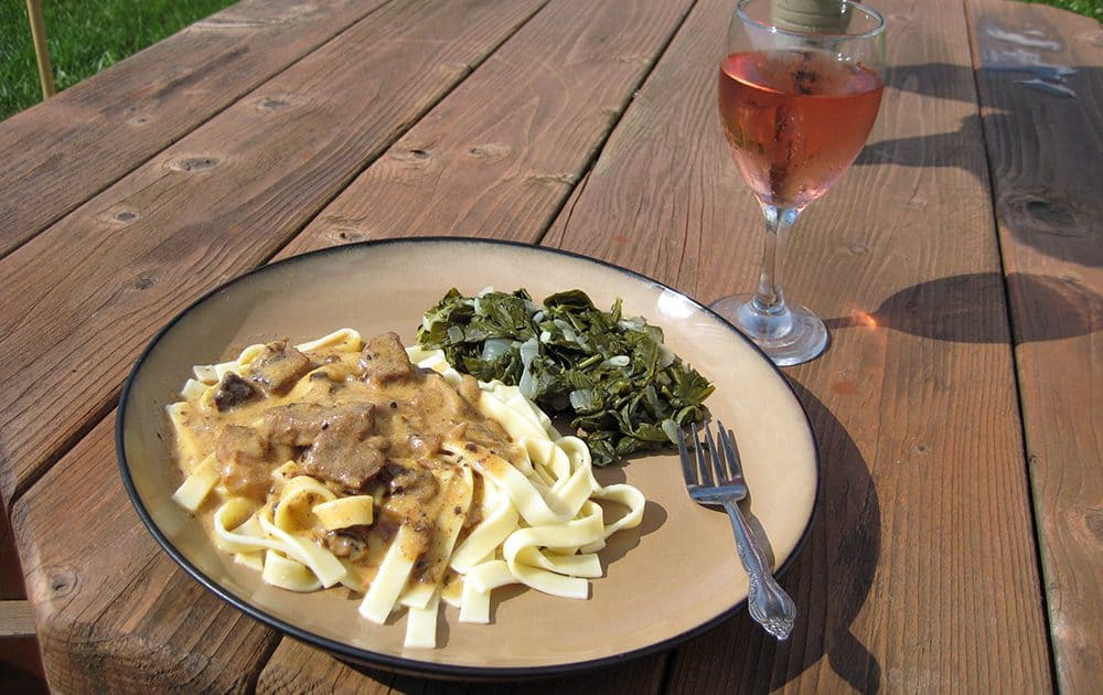 Daily Living Beef Stroganoff Pressure Cooker Recipe Modern Survivalists