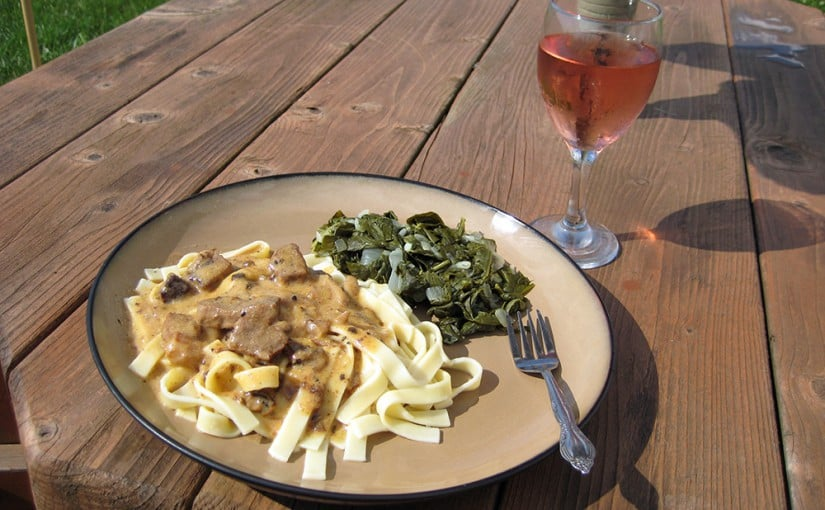 Daily Living & Beef Stroganoff Pressure Cooker Recipe