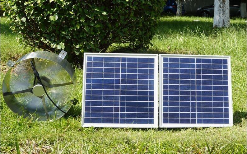 Solar Attic Fans Review Powered Fan Flat Base W