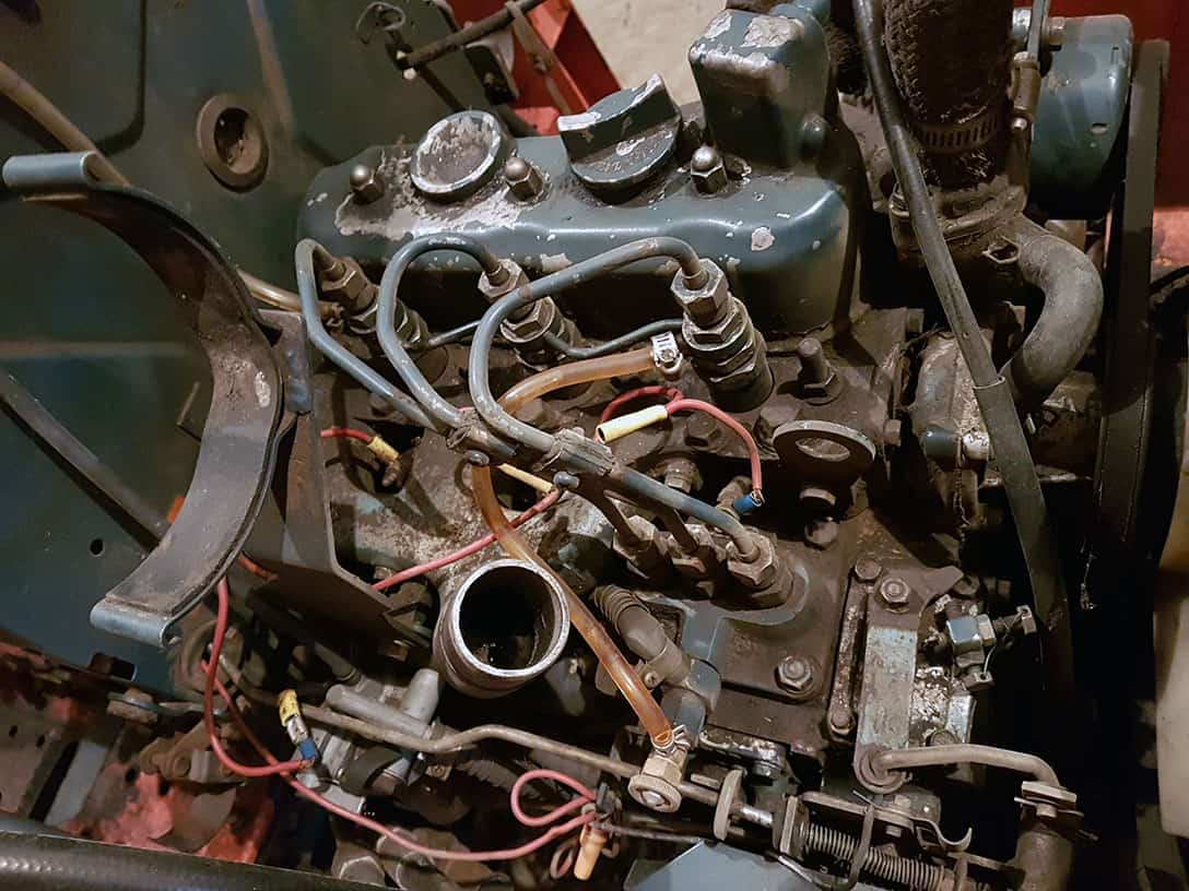Kubota B20 Engine