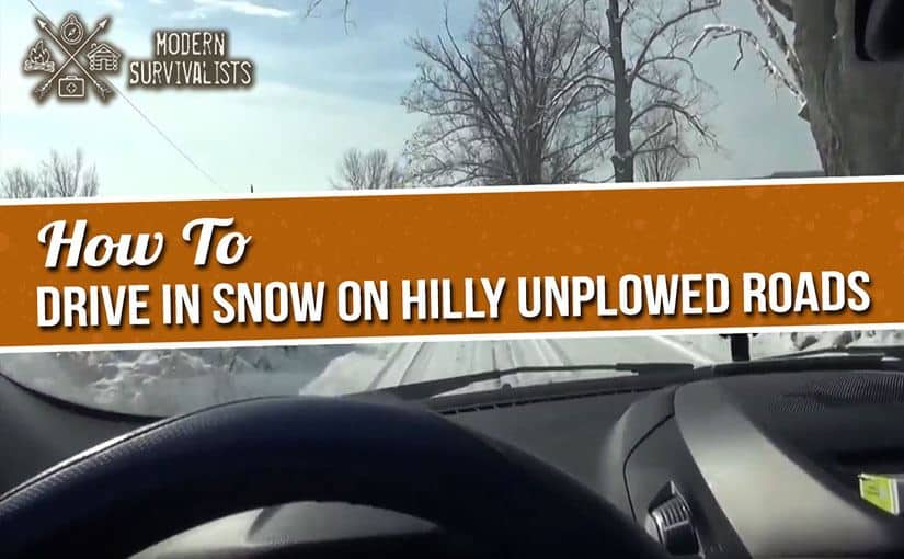 How to Drive in Snow on Hilly Roads