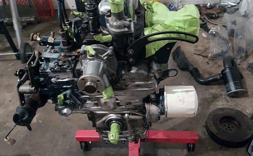 Restoring a Kubota B20 Tractor – Part 5