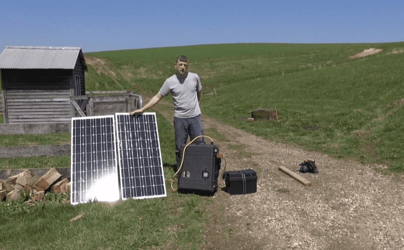 Battery Bank Solar Panel Expansion