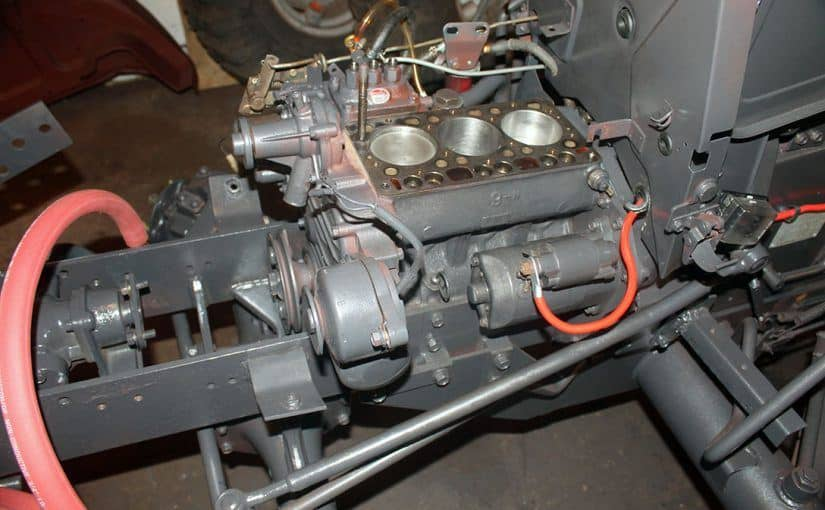 Setback on the Kubota B20 Restoration Project