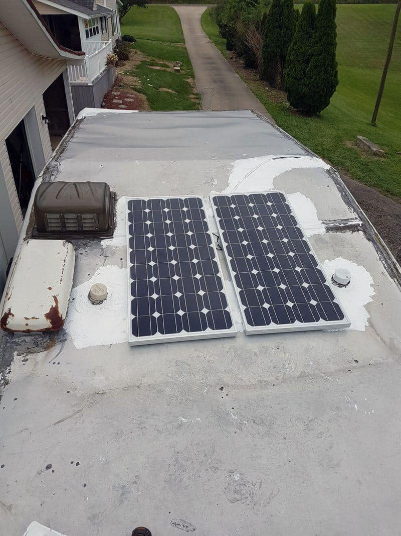 Adding Solar Power To A Camper Or Rv Modern Survivalists Motorhome Shore Wiring