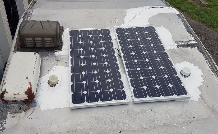 Adding Solar Power To A Camper Or Rv