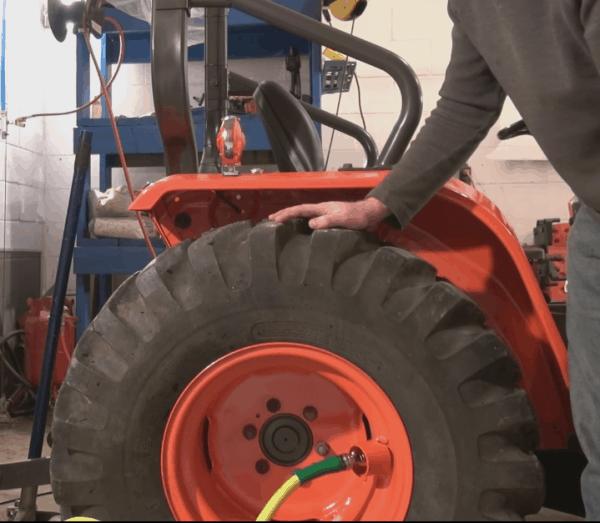 Loading Tires Step 6