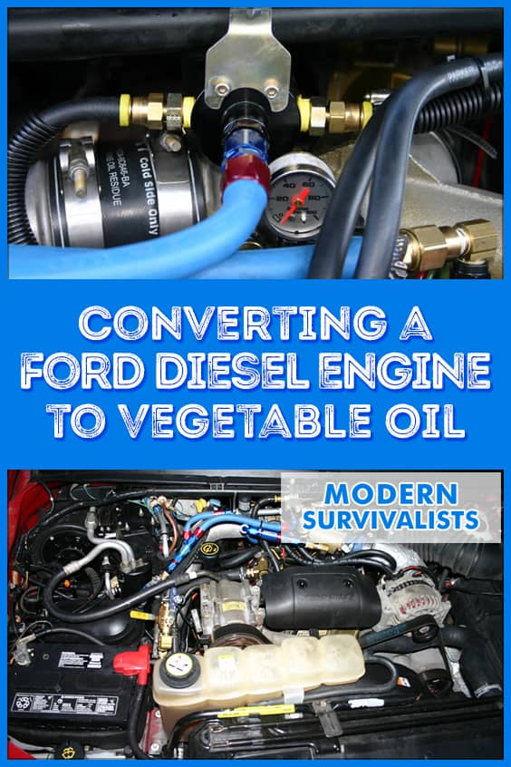 Most diesel engines are capable of running on a wide variety of fuels. I converted my 2002 Ford F250 with a 7.3L Powerstroke diesel to run on waste vegetable oil. This is an overview of my original conversion for those that are considering building their own conversion, or just curious how they work.