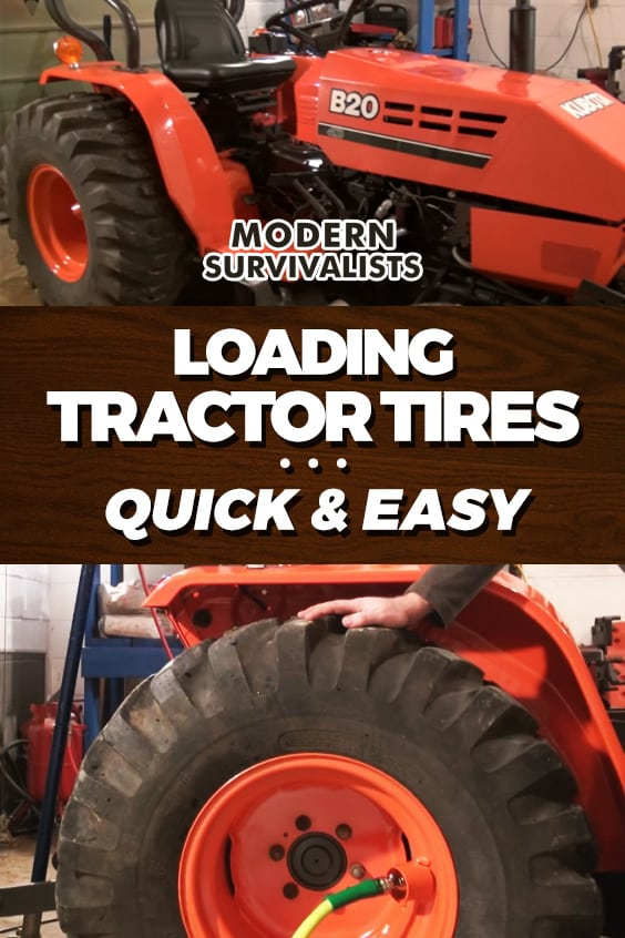 How to load tractor tires with windshield washer fluid for an easy upgrade giving more traction, better hill stability, and additional weight / ballast which helps with using your a end loader. Windshield washer fluid is inexpensive, easy to obtain, will not... #HowTo #KubotaTractor #Projects