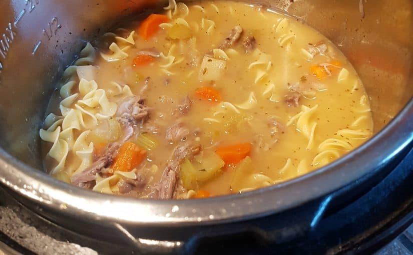 Groundhog Instant Pot Soup Recipe