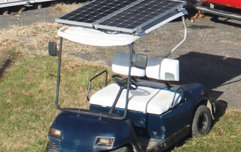 DIY – How to Convert an Electric Golf Cart to Solar Power – Part 1